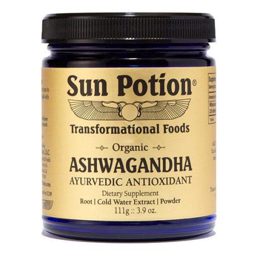 Sun Potion Ashwagandha Organic Jar